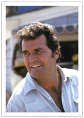 James Garner white shirt