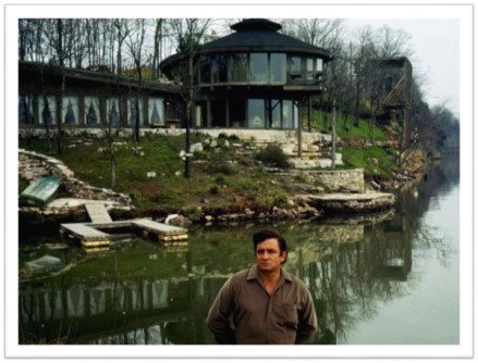Johnny Cash home Old Hickory Lake