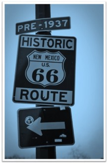 Route 66 NM sign