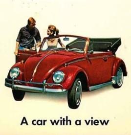 1960s VW Beetle ad