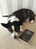 Toby reading Hugh