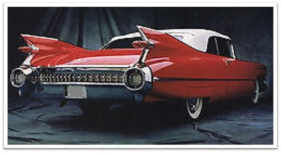 1959 Cadillac night