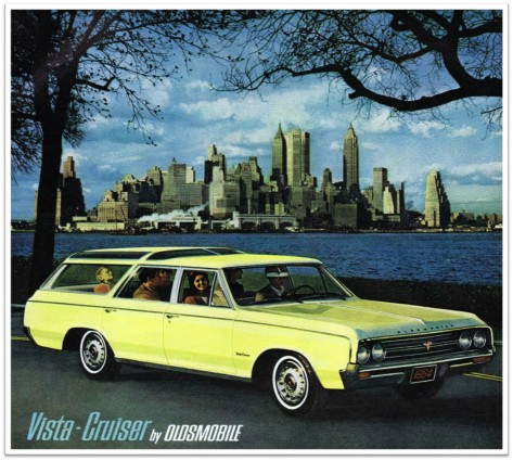 1964 Oldsmobile Vista Cruiser ad