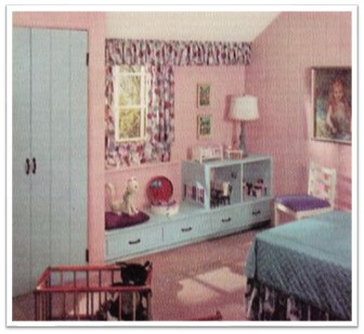 Bedroom Sherwin Williams Home Decorator 1960