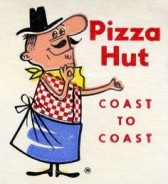 Pizza Hut vintage ad