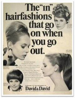 1960s Hair Piece ad