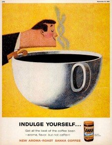 1960s Sanka coffee ad