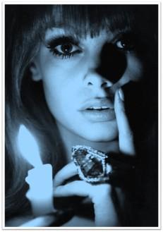 Jean Shrimpton candle