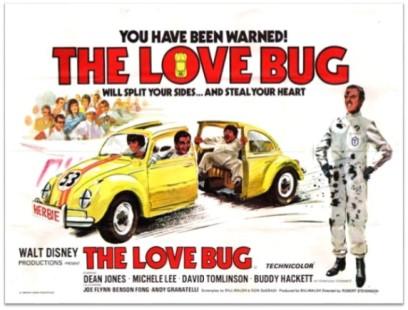 Love Bug poster 1968
