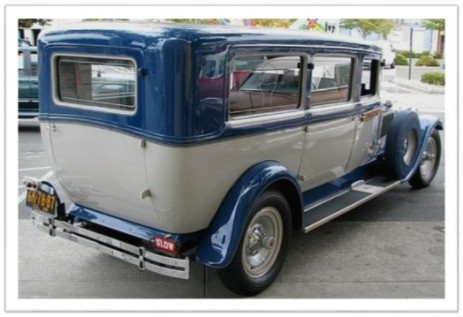 1929 Packard hearse