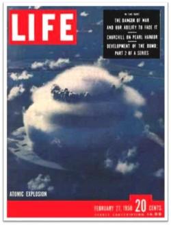 1950 Life atomic explosion