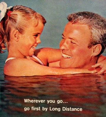 1963 Bell telephone long distance ad