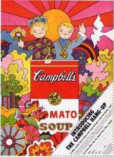 Campbells soup hangup ad