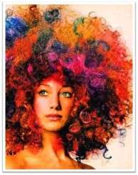 Vogue 1970 afro berenson