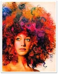 Vogue 1970 afro berenson