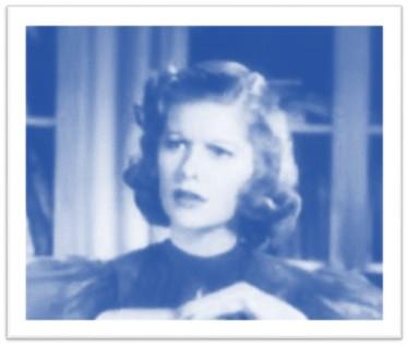 Blue Lucille Ball Stage Door Trailer