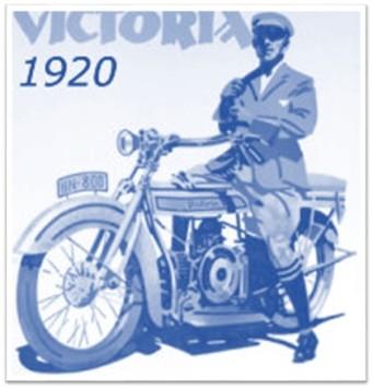 1920 Victoria motorcycle ad