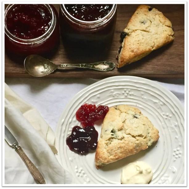Sour cherry jam tart Suzanne DeBrango
