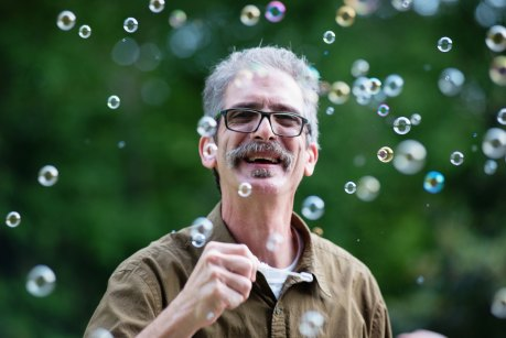 Man Blowing Bubbles brandon-morgan-286192