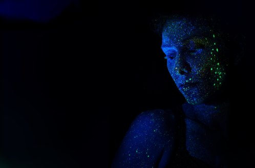Glitter person blue h-heyerlein-199082