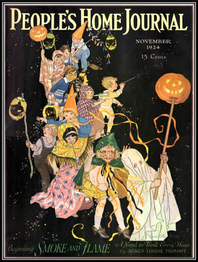Peoples Home Journal Halloween 1924