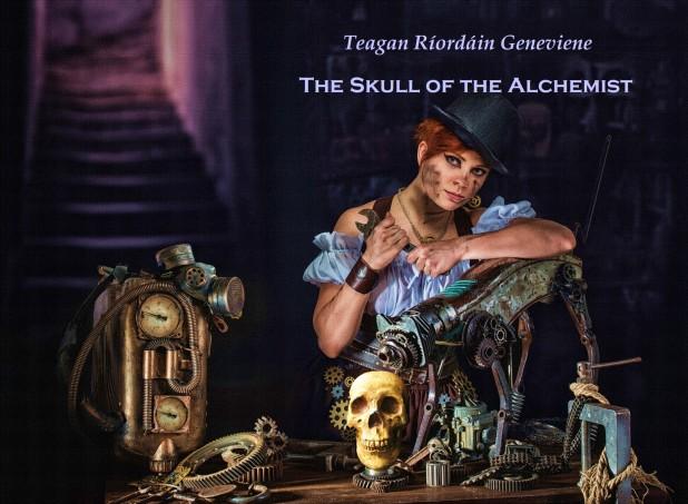 Skull of the Alchemist Cover 1