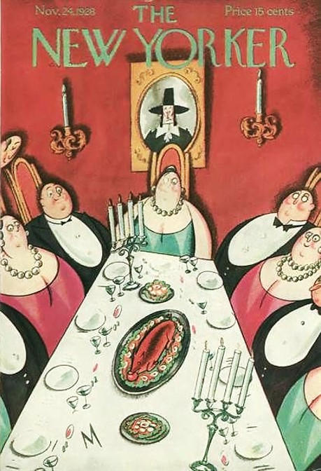 1928 Thanksgiving New Yorker
