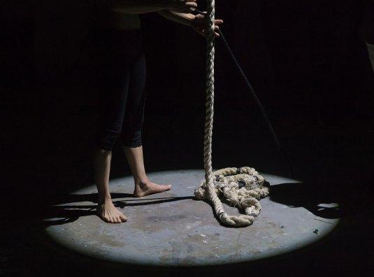Rope Bare feet Dark_eva-blue-42498