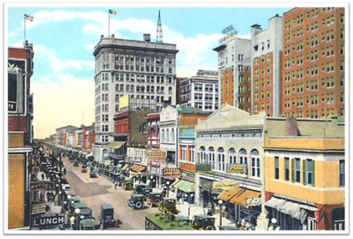 1920s Downtown Savannah
