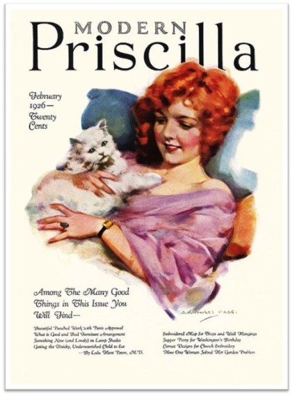 1926_Feb Modern Pricilla Girl Cat