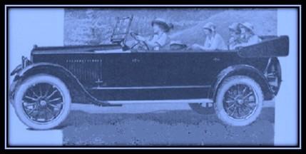 Studebaker blue 1920s