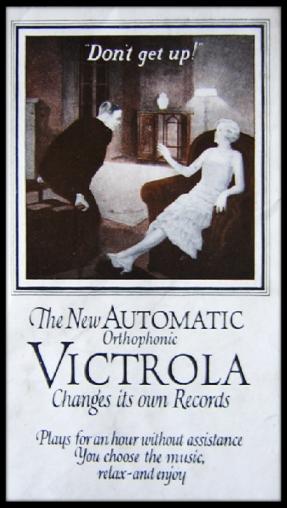 1927 Orthophonic Victrola Ad