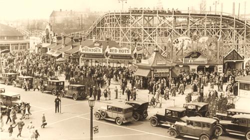 1928 Sunnyside Amusement Park