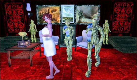 Lulu towel Bots Metropolis 4