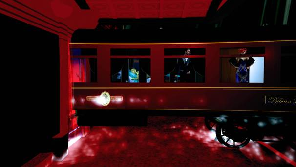Bot Valentino Lulu inside train windows Flight to Egypt-4