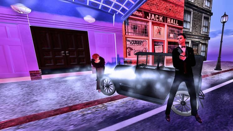 Lulu bending Valentino car Cotton Club