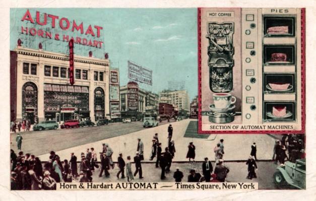 Horn & Hardart automat 1920s