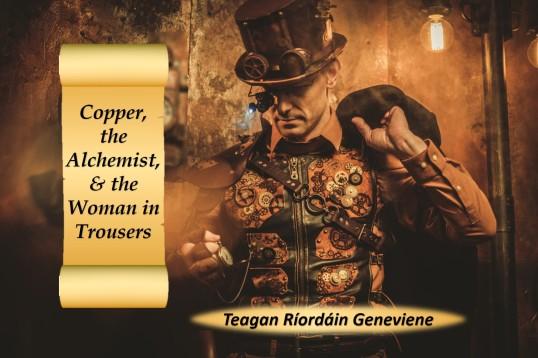 Cover Copper Alchemist Woman n Trousers