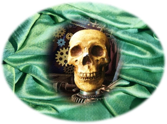 Skull Green SIlks