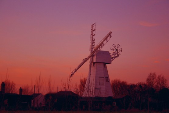 White_Mill_sunset