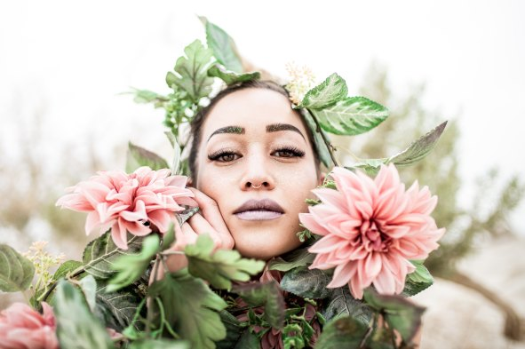 Flower Woman spencer-dahl-796539-unsplash