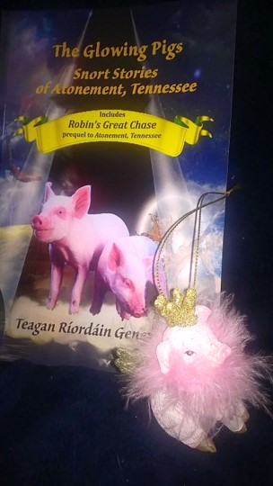 Pink Pig with Glowing Pigs cover