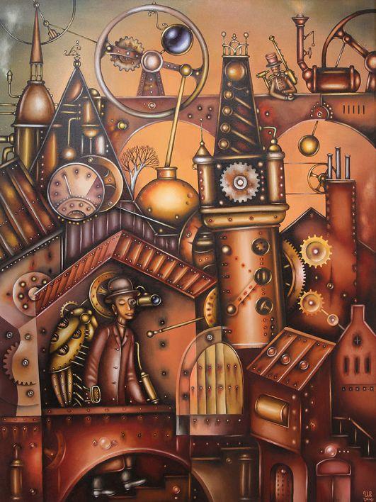 SteamPunk City man-Eugene_Ivanov_2445