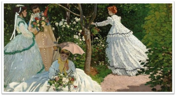 Women in the Garden_Monet