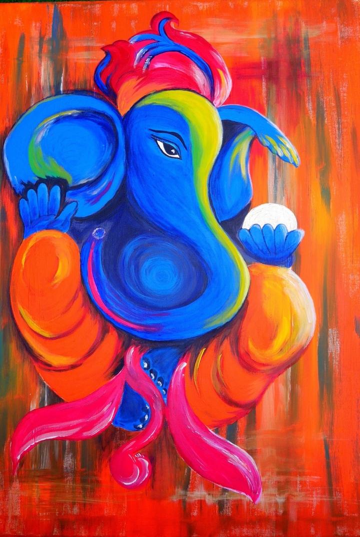 Ganesha painting suyinorlowski_Pixabay