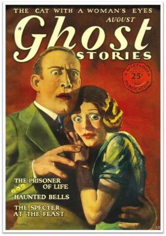 Fearful man and woman circa 1926