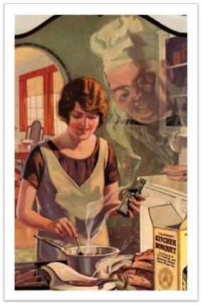 1920s Kitchen Bouguet ad