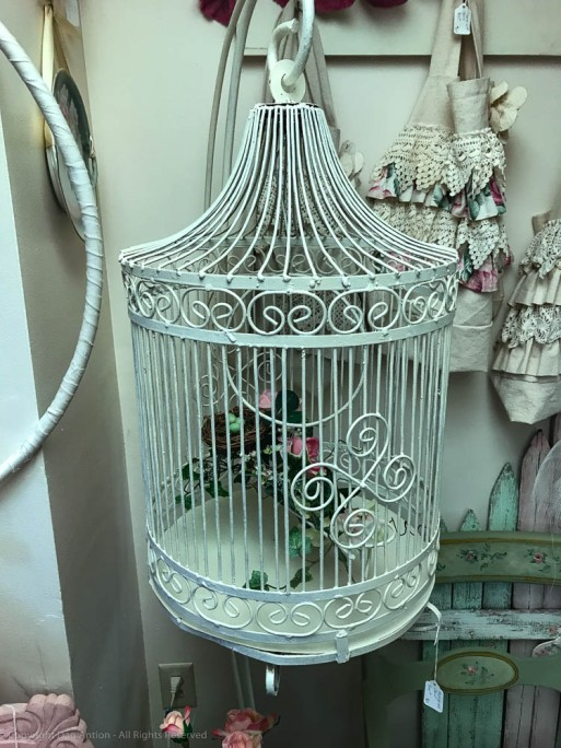 Vintage birdcage, by Dan Antion