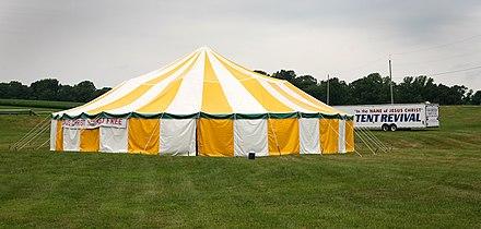 Revival Tent in Pennsylvania, Wikipedia