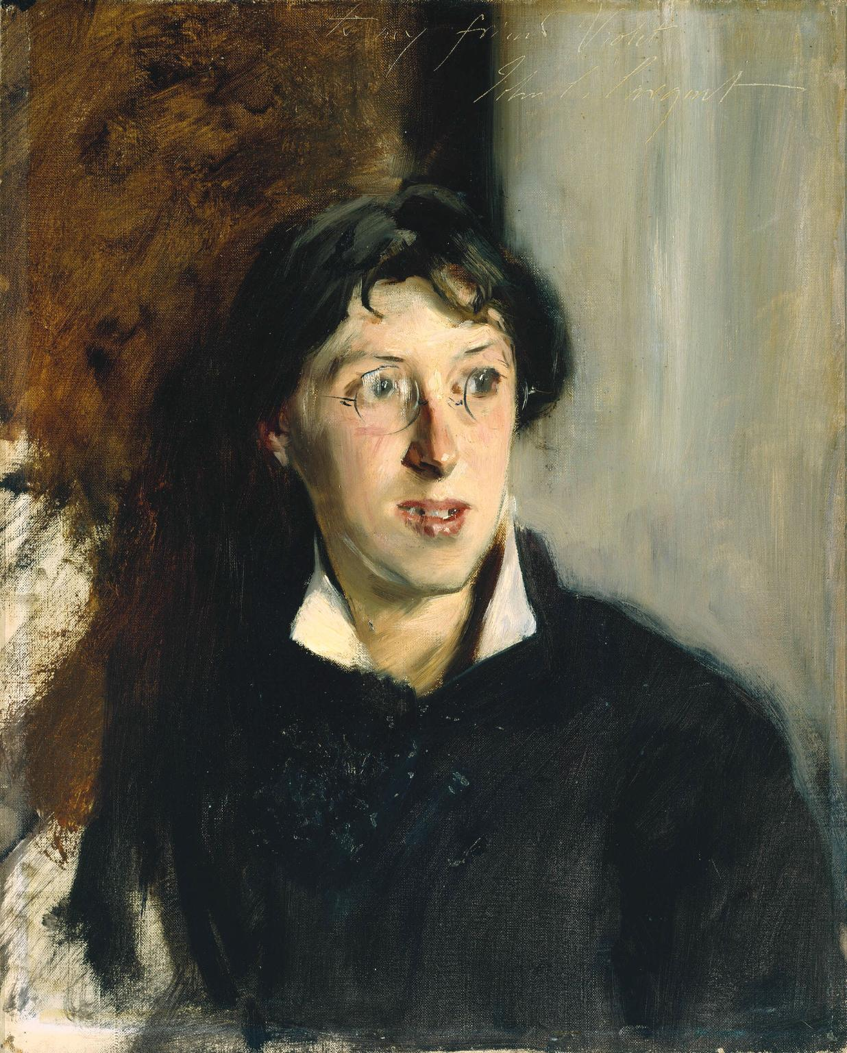Vernon Lee by John Singer Sargent 1881